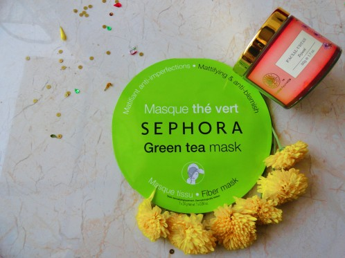 Sephora Mask and Forest Essentials Ubtan For Radiant skin.