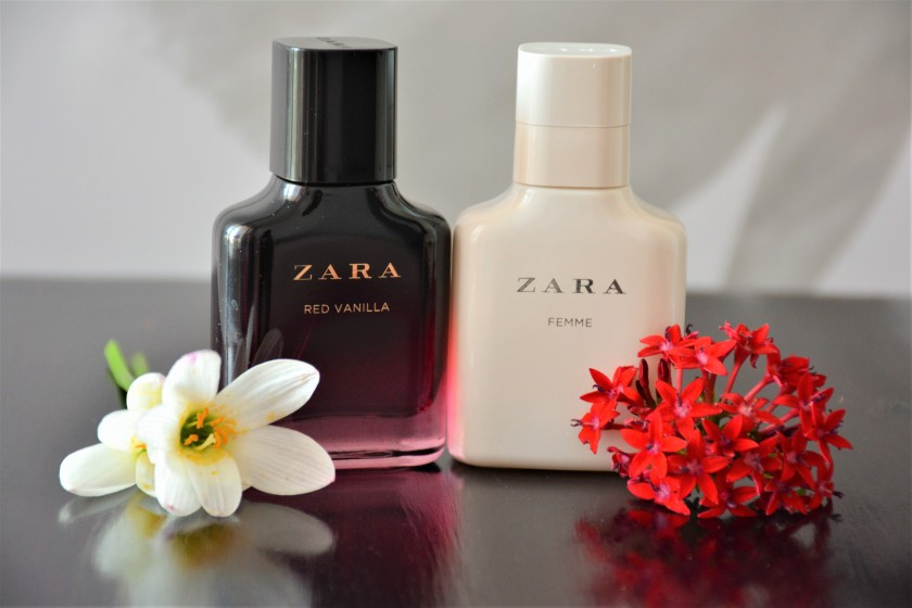Zara Red Vanilla To The Gorgeous You